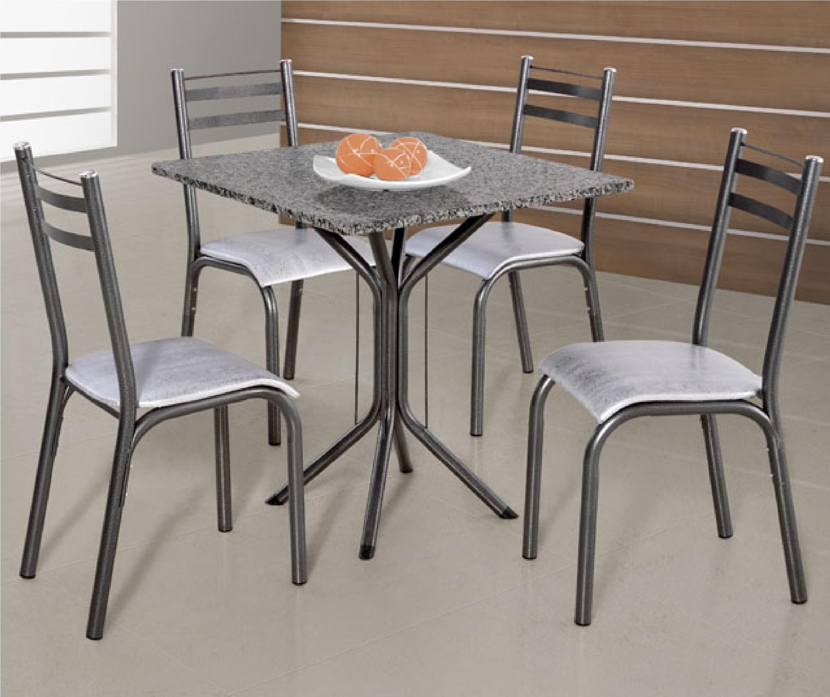 Mesa De Cozinha 4 Cadeiras De Marmore Oppenau Info -> Sala De Jantar Pequena Com Mesa De Marmore